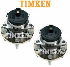 For Ford Lincoln MKX FWD Pair Set of Rear Wheel Bearings Hubs Assies Timken