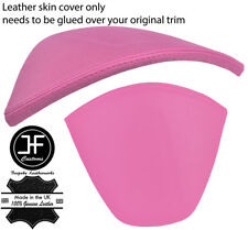 PINK REAL LEATHER SPEEDO CLUSTER HOOD COVER FOR TOYOTA GT86 SUBARU BRZ 2012-17