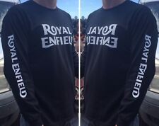 ROYAL ENFIELD SLEEVE PRINT LONG SLEEVE TEE