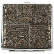Egyptian style Ultra-thin cigarette case Q3O1Q3O1