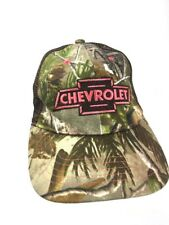 Chevrolet Women's Hat Camouflage  Baseball Pink Logo Vented Adjustable Cap Chevy