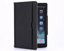 Luxury Magnetic Tan Leather wallet Smart case Covers for Apple Ipad2/3/4Air/Mini