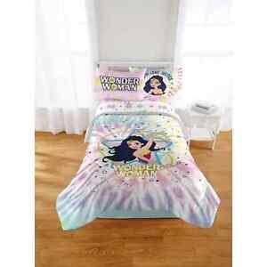 Wonder Woman Microfiber Full Comforter Super Soft Lasso of Truth NL28 3C NIB