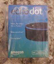 NEW Amazon Echo Dot Bluetooth Speaker Alexa 2nd Generation Black