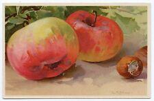 C. KLEIN . Fruits . Pommes . Apples . Noisettes . Hazelnut