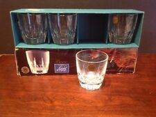 CRISTAL D ARQUES DURAND BERGERAC CRYSTAL OLD FASHIONED Rock Glass Set Of 4
