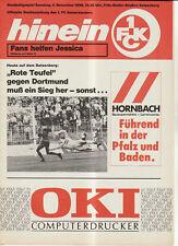 BL 89/90 1. FC Kaiserslautern - Borussia Dortmund