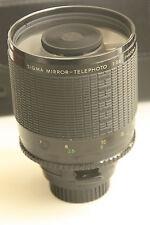 Objectif SIGMA pour Minolta 400mm, f:1:5,6