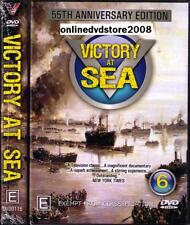 VICTORY AT SEA (6 DVD BOXSET) 55th Anniversary EDITION WWII WW2 War (NEW SEALED)
