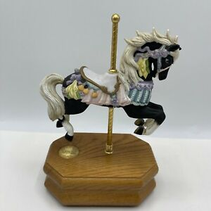 Westland Carousel Collection Limited Edition Black Horse Somewhere In Time