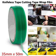 PVC 3.5mm*50m Car Vehicle Wide Design Knifeless Cutting Tape Wrap Film Universal