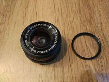 Vivitar 28mm f2.8 lens close focus - Minolta MD