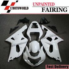 Unpainted Fairing Kit for Suzuki GSXR600/750 2001-2003 01 ABS injection Bodywork