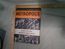 Metropolis An American City in Photographs Photography New York The Thirties