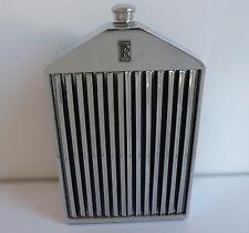 Vintage ROLLS ROYCE Grill Radiator Decanter Flask - Ruddspeed Ltd, England c1960