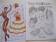 """Paper Doll Studio Magazine Issue #83 """"Carnivale!"""" from Fall 2005"""