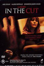IN THE CUT -  Meg Ryan, Mark Ruffalo, Jennifer Jason Leigh   - DVD