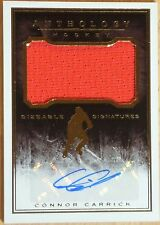 2014-15 PANINI - ANTHOLOGY HOCKEY- SIZEABLE SIGNATURES - CONNOR CARRICK #267/299
