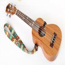 Ukulele Guitar Shoulder Neck Strap Belt Adjustable Ethnic Accessories Hook