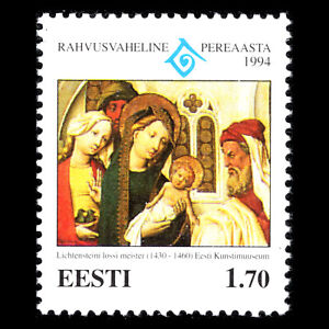 Estonia 1994 - International Year of the Family - Sc 281 MNH