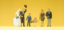 Preiser 10339 Bride, Groom & Guests HO Gauge Figures