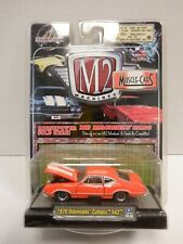 M2 Detroit-Muscle 1970 Oldsmobile Cutlass 442 Orange 1:64 010820DBT3
