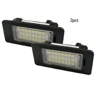 2pc LED Error Free License Plate Light Lamp for BMW 5Series E39 E60 E61 F10 WBK