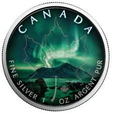 Kanada 5 Dollar 2018 - Maple Leaf - Northwest Territories (6.) - 1 Oz Silber ST
