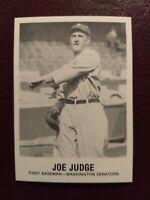 1981 TCMA Renata Galasso #171 Joe Judge Baseball Card