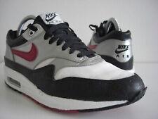 2008 Nike Air Max 1 87 Black Red Metallic Silver USA 318715-061 US 8,5 EU 42 Rar