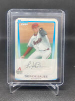 (1) TREVOR BAUER 2011 1st Bowman Draft Prospects Rookie RC BDPP9