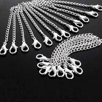10x Männer Frauen Halskette Kette Armband Extender + Karabinerverschluss Schmuck