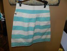 Lacoste Womens Summer Skirt Size 34 XS