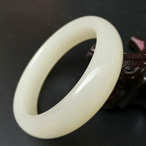 Natural Xinjiang Hetian jade and white jade bracelet