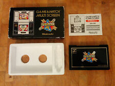 *PINBALL* PB-59 1983 NINTENDO GAME AND WATCH  boxed!! French