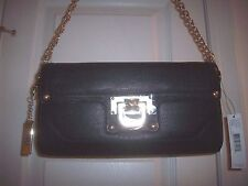 DKNY Vintage 763211602 Black Leather Shoulder bag/Clutch, NWT