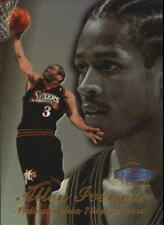 Allen Iverson Row 3 #3 Flair Showcase 1997/98 NBA Basketball Card