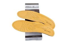 Leather insole with met raise by Pro 11 wellbeing
