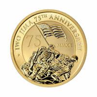 2020-P $15 Iwo Jima 75th Anniversary 1/10oz .9999 Gold Coin