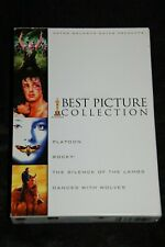 Mgm Best Picture Gift Set (Dvd, 2007, 4-Disc Set) Platoon, Rocky, Silence Lambs