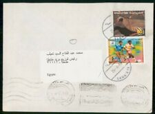 Mayfairstamps Yemen 2002 Soccer Stamp Commercial Use to Egypt Cover wwh29085