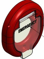 BUS DOOR PART - COVER EMERGENCY BUTTON - O749