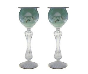 Engraved flower candle holder romantic candlestick tealight holder stand