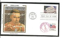 US SC # 2966 Prisoners Of War & Missing In Action  FDC. Colorano Silk Cachet 3