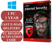 G Data Internet Security 1 PC / 1 Year EU&UK Activation Code 2020 E-MAIL ONLY