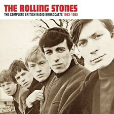 THE ROLLING STONES - COMPLETE BRITISH RADIO BROADCASTS 1963-1965  2 CD NEU
