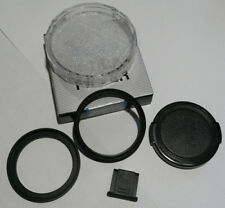 Olympus Trip 35 Accessory 43.5mm Step Up Ring, Lens Cap, UV Filter & Flash Cover