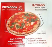 piatto teglia cordierite pizza trabo Pietea Refrattaria
