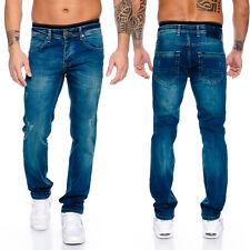 Rock Creek diseño caballero Jeans Hose RAW recto pierna straight-cut rc-2100