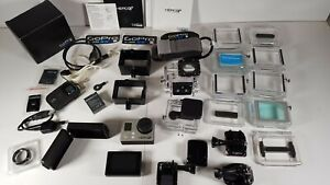 GoPro HERO3+ Black Edition + LCD Back + Dive Housing + Remote + Accessories